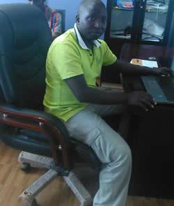 SSali Billy Mangering Director Rwanda